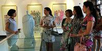 马兆琳水墨展在北塘古镇开幕