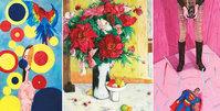首届天津国际青年美术周作品展示