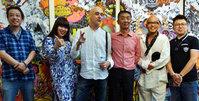 镜中世界艺术展梅江国际艺术馆开幕