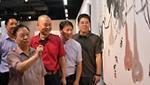 张蒲生从艺62周年美展