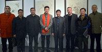 王心刚中国画作品展在天津美术馆举行