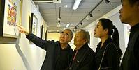 王绍棠版画展艺术再现风土人情