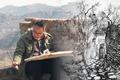天津青年山水画家何宁山西晋中写生作品欣赏