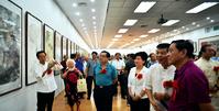 范扬人物画作品展在忻州开幕