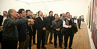天津写生美术作品展在美术馆开幕