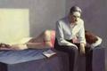 爱德华霍珀:那份深埋在画作中的孤独