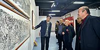 李小可师生作品展在天津举办