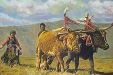 当代油画名家许宁的绘画艺术