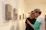 陈清勇砖上艺术作品展在上海开幕