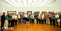 庆祝改革开放40周年天津市美展开幕