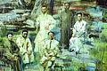 """孙建平的油画人物欣赏:""""神韵""""我的至上追求"""