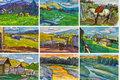 姜中立手稿——行走的记录之大美新疆