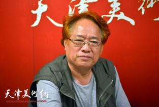视频:著名画家刘皓做客天津美术网