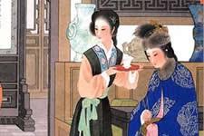 王叔晖工笔人物画古代仕女图欣赏