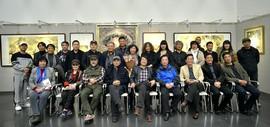 纯粹无界·乔晋津、焦小红、张新佳作品展在天津图书馆开幕