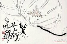 尹沧海教授笔下的草虫:兼工带写 意趣横生