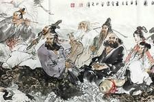春深挥毫聚仙来 天津著名画家王金厚新作《牛年八仙新传》赏析