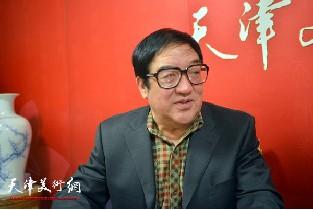 视频:著名画家卢贵友做客天津美术网