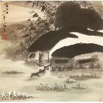 姬俊尧:《水乡雨后》