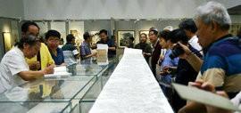 高清图:天津工艺美院616艺术沙龙美术作品邀请展举行