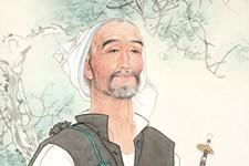 形神兼备—杨德树工笔重彩人物画欣赏