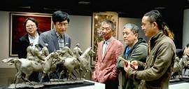 全国艺术硕士美术指导教师优秀作品巡展在天津美术学院举行