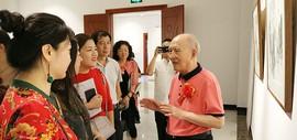 情系桑梓 著名画家孙贵璞花鸟画展在保定市华中美术馆开幕