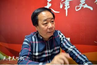 著名书法家赵寅做客天津美术网访谈实录