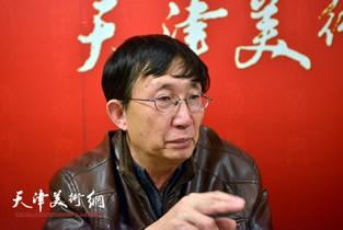 著名画家王时做客天津美术网访谈实录