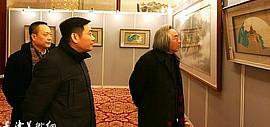 2017中诺国际秋季艺术品拍卖同期举行王心刚扇面书画艺术展