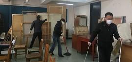 为复课开学保驾护航 天津美术学院中国画学院开展卫生清理消毒工作