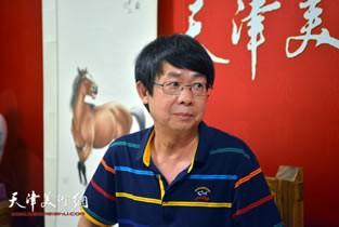 著名画家毓岳做客天津美术网访谈实录