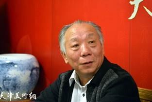 视频:著名书法家王克礼做客天津美术网
