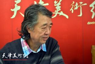 视频:著名画家华克齐做客天津美术网