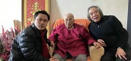 著名画家霍春阳春节前夕看望恩师孙其峰先生