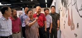 """高清图:""""张蒲生执教54周年、从艺62周年美术作品展""""开展"""