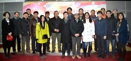 高清图:沽上溢彩--天津市政协水彩画艺术研究院成立暨首届作品展开幕