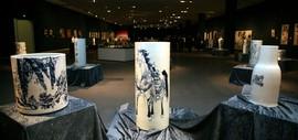 天之瓷—天瓷画院陶瓷艺术展在天津美术馆开展