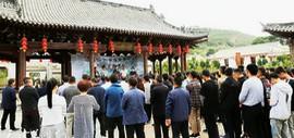 李旭飞山水画展在隆德开幕 天津青年画家首次在塞外宁夏办展