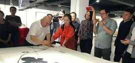 尹沧海《意象造型与中国大写意绘画》专题讲座 探讨当代中国绘画发展