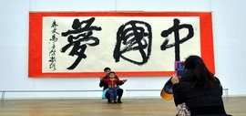 高清图:中国梦·天容海色—马孟杰书法作品展