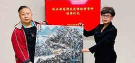 著名画家吕大江践行初心使命 绘就精品献爱心