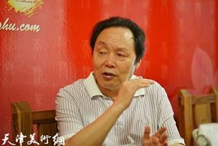 视频:著名画家向中林做客天津美术网访谈