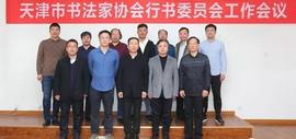天津市书法家协会行书委员会工作会议召开