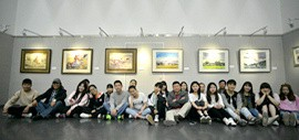 """高清图:""""水色·迹象""""天津市政协水彩画艺术研究院作品展开幕"""