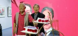 """沽水双松-津门""""九零后""""赵兵凯、张锡武作品展在天津美术网艺术馆开幕"""