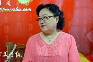 著名津门女画家刘正女士做客天津美术网访谈实录