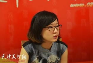 当代实力派画家马兆琳做客天津美术网访谈