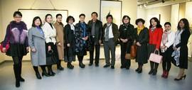 高清图:墨舞笔歌致青春-津门青年女画家优秀作品展在天津群艺馆开展