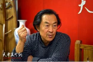 著名书法家王全聚做客天津美术网访谈实录